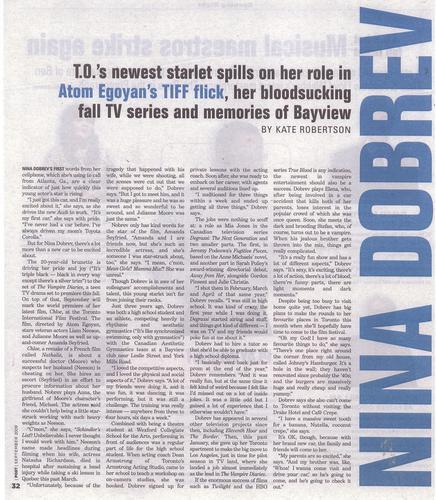 Nina Dobrev magazine scan