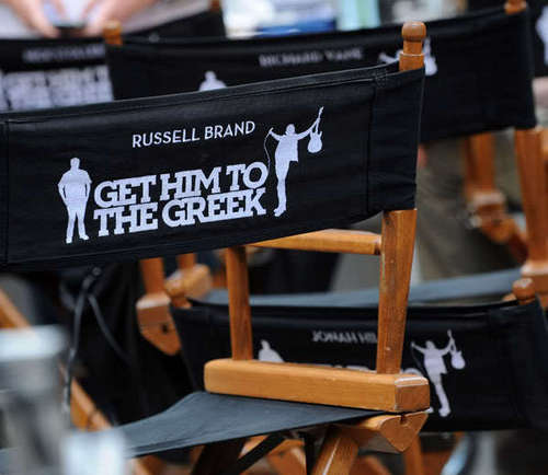 """On Set of  """"Get Him To The Greek"""" in New York"""