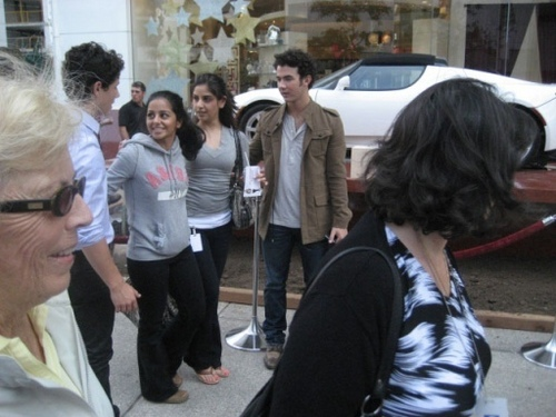 Out at William Ashley China Store in Toronto, ON, Canada - 9/12. <3