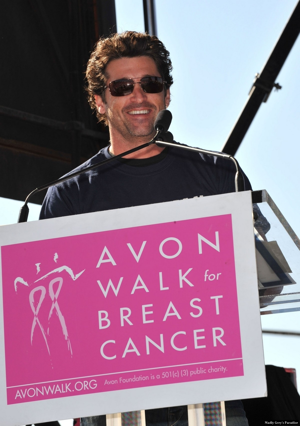 Patrick Dempsey at 'Avon Walk for Breast Cancer' - patrick-dempsey photo