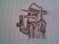 Perry l'ornitorinco agente segreto - perry-the-platypus fan art