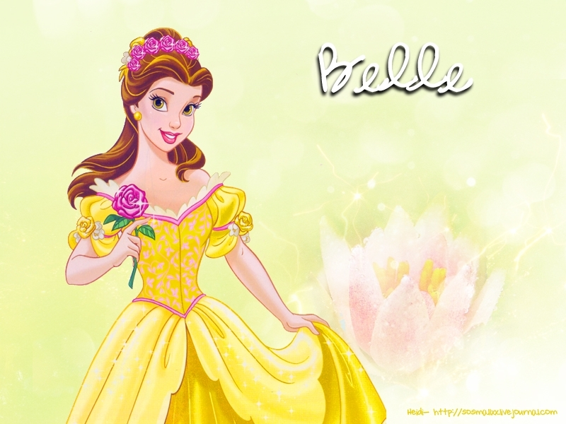 Princess Belle - Belle Wallpaper (8181198) - Fanpop
