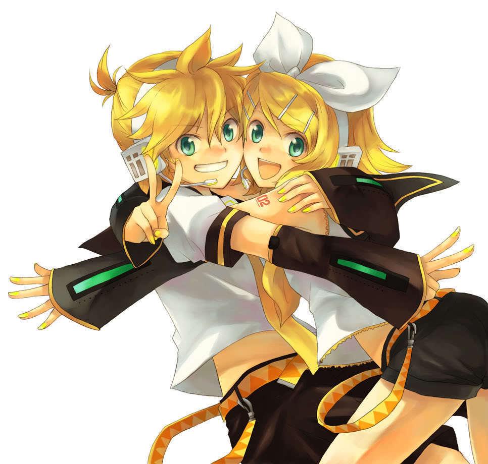 Rin and Len Kagamine Rin & Len Kagamine
