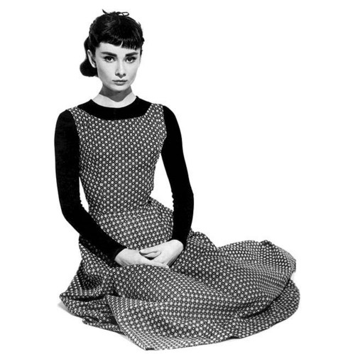 Sabrina (1954) wallpaper probably containing a playsuit, a well dressed person, and a top titled Sabrina