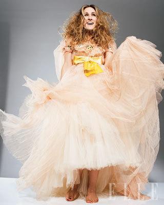 Sarah Jessica Parker in Elle Magazine