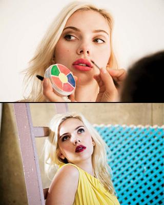 Scarlett Johansson in Elle Magazine