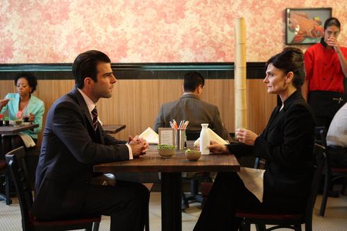 Season 4: Sylar and Angela