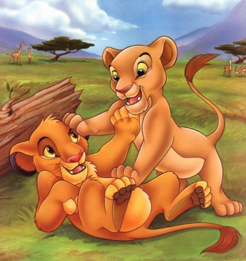 Simba & Nala Photo (8120156)