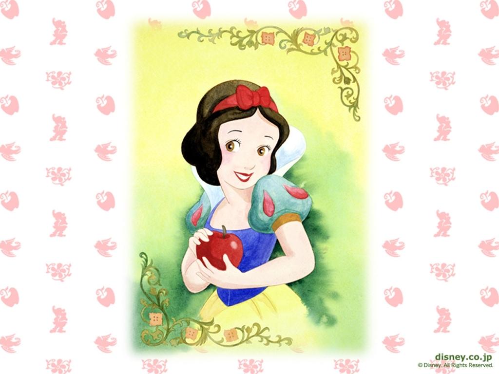 Snow White kertas dinding