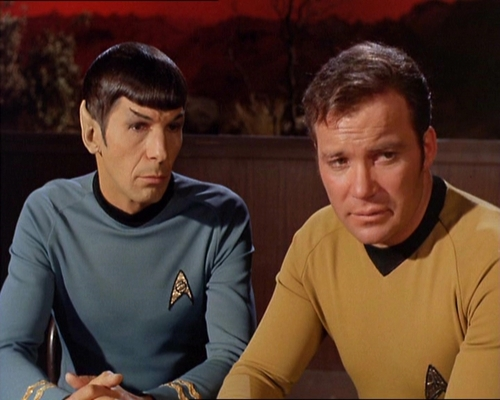 James T. Kirk wallpaper called Spock-Kirk