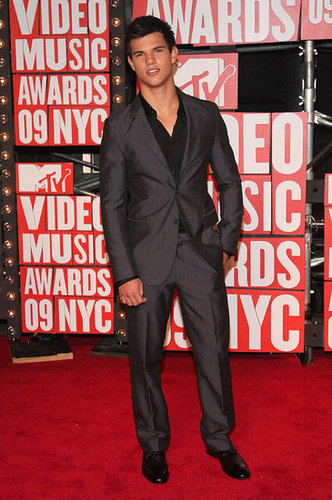 Taylor Lautner at VMA's