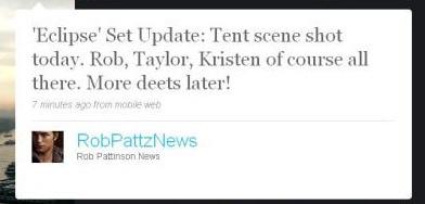 Tent Scene filmed today (!!!)