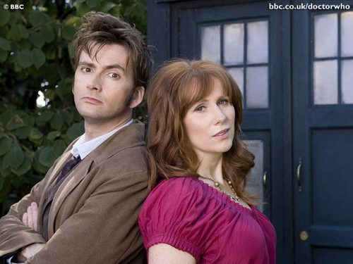 The Doctor and Donna - The Unicorn and The 黄蜂