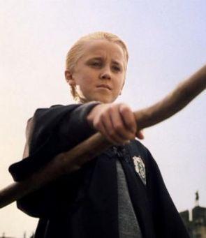 Tom as Draco Malfoy