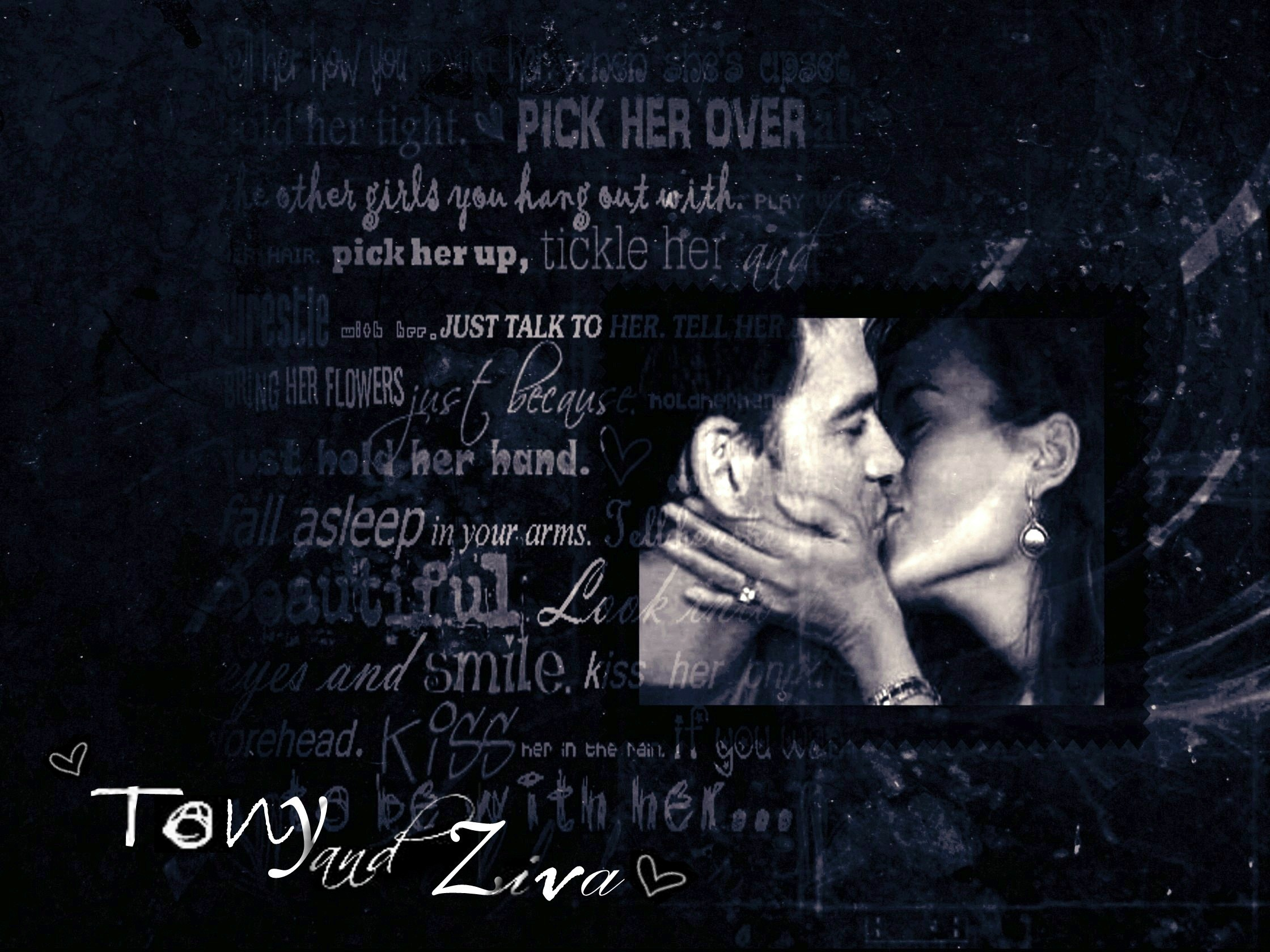 NCIS Couples Tony and Ziva