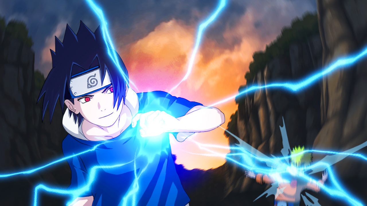 Collection Of Animation Naruto Shippuden: Sasuke Chidori