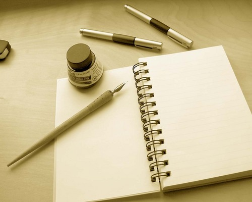 When Writing....