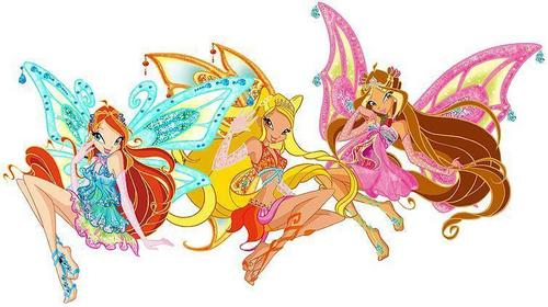 Winxclub! वॉलपेपर probably containing a rose titled Winxclub