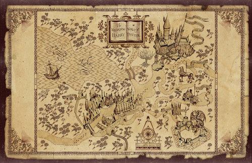 হ্যারি পটার দেওয়ালপত্র entitled Wizarding World of HP (Theme Park)