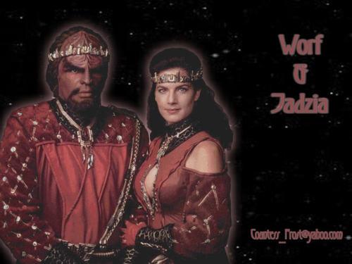 Worf & Jadzia (1)