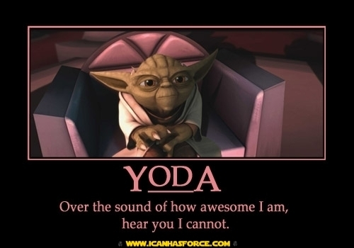Yoda Inspirational Poster
