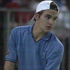 Young Roger Federer