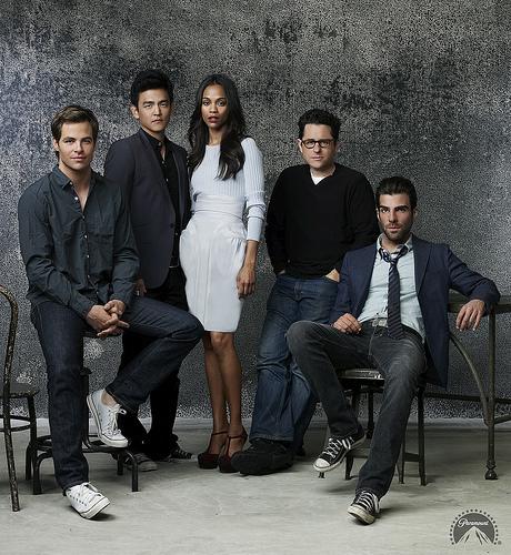 Zach, Chris, & Star Trek cast