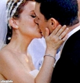 alyssa milano wedding 写真