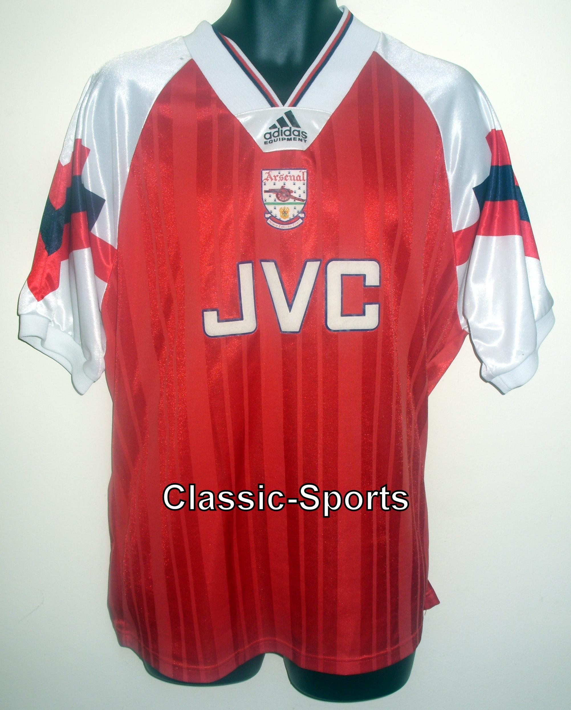 arsenal 1992-94 Football shati