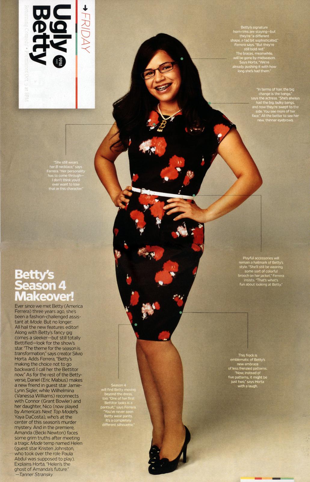 betty's new look for season 4!!