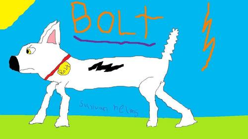 Disney's Bolt پیپر وال entitled bolt the super dog