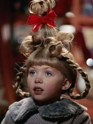 How The Grinch Stole Christmas wallpaper entitled cindy lou who