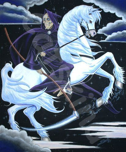 death on his white horse