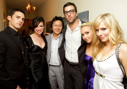 kristen bell and heroes cast
