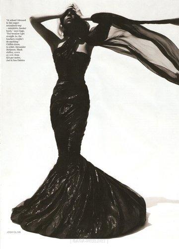 lady gaga on Vogue England