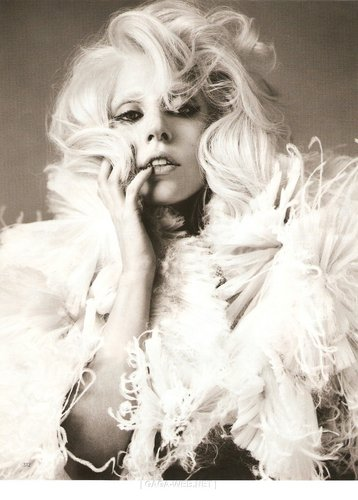 lady gaga on Vogue England
