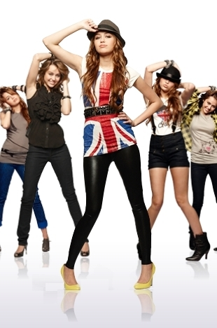 Miley Cyrus wallpaper possibly with a playsuit, a legging, and a hip boot called miley cyrus (L)