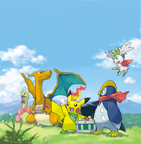 pokemon explorers of sky