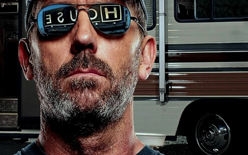 House M.D. wallpaper probably containing sunglasses entitled 'House MD' Season 6 Promotional Photoshoot Wallpaper