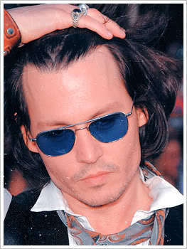 Johnny Depp wallpaper with sunglasses called -J.Depp-