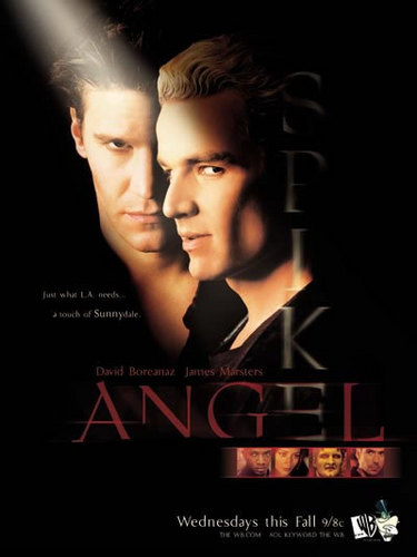 Angel – Jäger der Finsternis – Jäger der Finsternis vs Angelus Hintergrund possibly with a portrait called Angel – Jäger der Finsternis and Spike Season 5