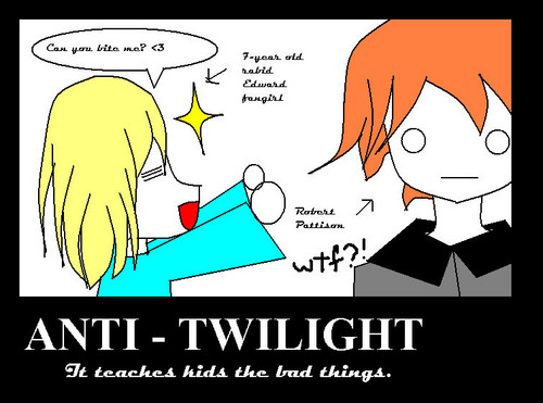 Critical Analysis of Twilight দেওয়ালপত্র with জীবন্ত called Anti-Twilight