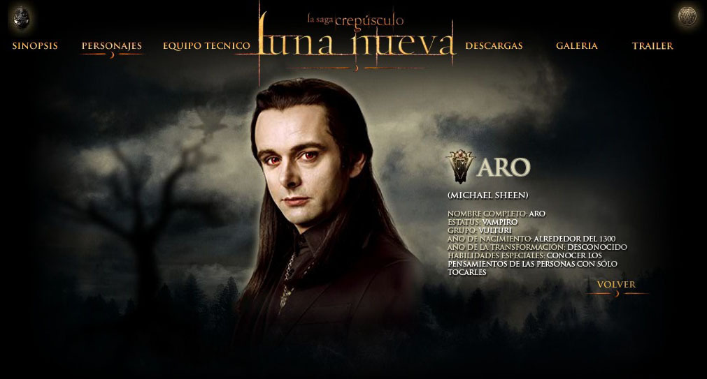 Michael Sheen As Aro Image