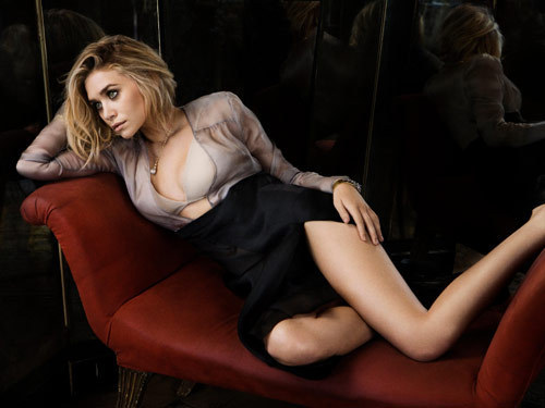 Ashley Olsen in Marie Claire