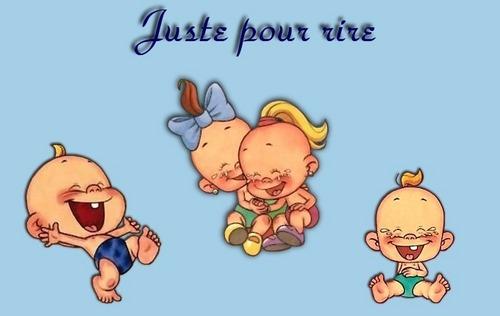 Babies laugh