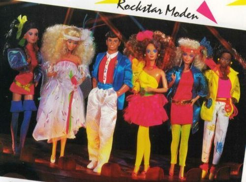 The 80s wallpaper called Barbie and the Rockers