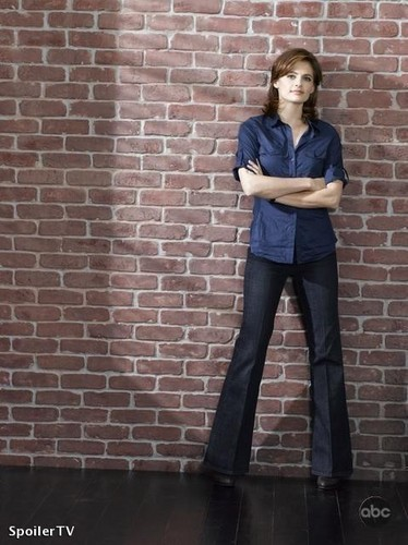 Kate Beckett پیپر وال probably containing a pantleg, bellbottom trousers, and long trousers entitled Beckett Promo season 2