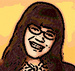 Betty as a cartoon - ugly-betty icon