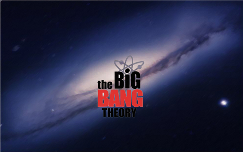 Big bang widescreen kertas-kertas dinding