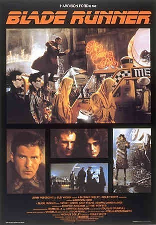 Blade Runner wallpaper possibly containing anime entitled Blade Runner Poster